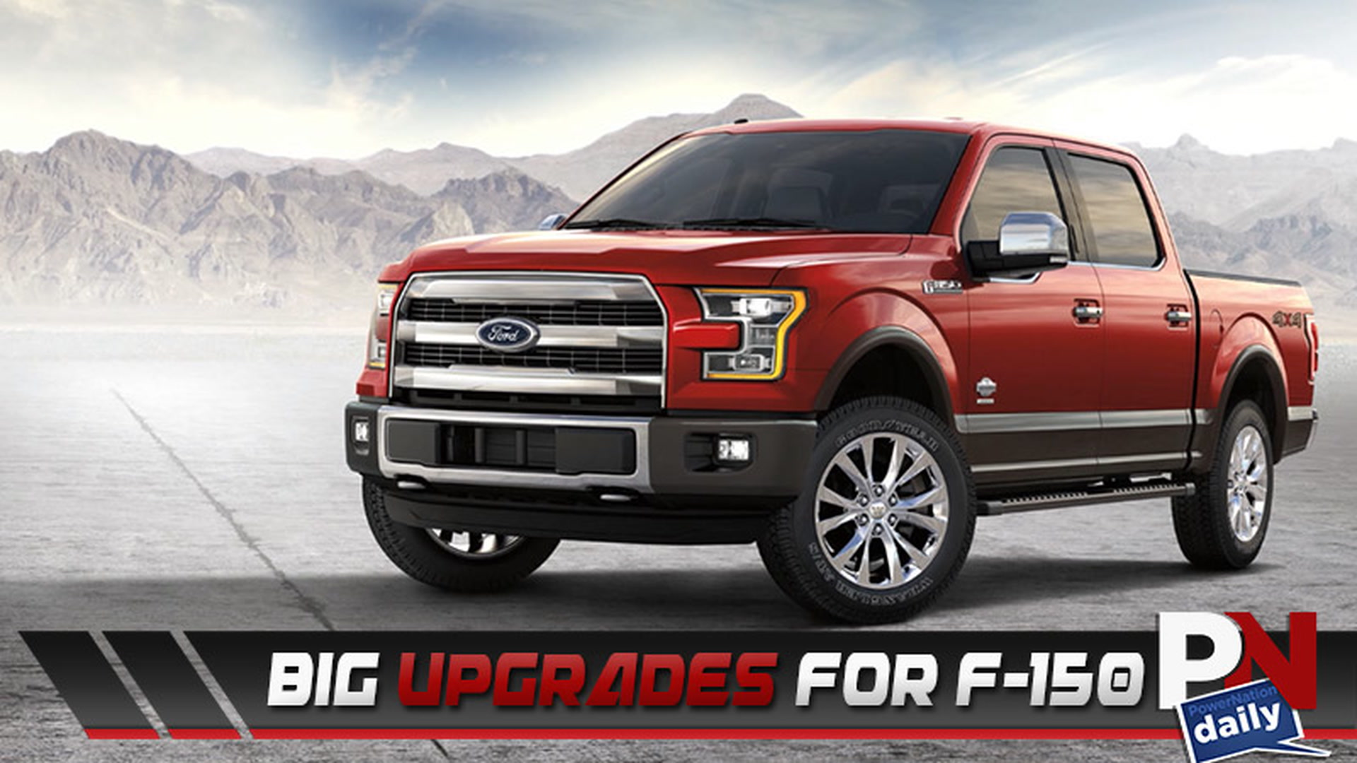 The 2017 Ford F 150 Gets BIG Upgrades