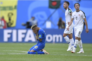 Brasil sufre y logra agónico triunfo ante Costa Rica en el Mundial de Rusia