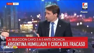 Escándalo en Argentina: Se filtra audio de Simeone tras debacle de Argentina en Rusia
