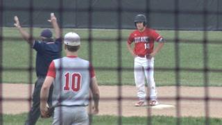 Glenwood vs Pleasant Plains Baseball
