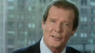 Fallece Roger Moore, actor de James Bond