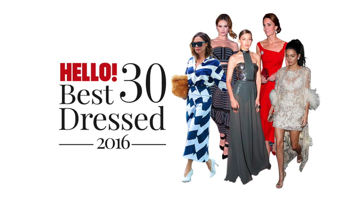 HELLO! 30 Best Dressed of 2016