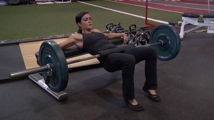 Barbell Hip Thrust - Legs / Glutes Exercise - Bodybuilding.com