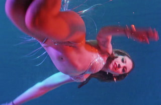 Underwater Mermaid Burlesque at the B Ocean