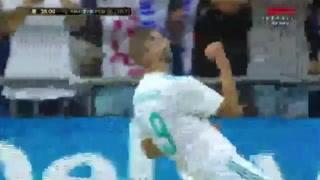 Benzema amplía la ventaja para el Real Madrid ante Barça