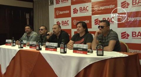 Elefante y Miguel Mateos tocarán hoy en San Pedro Sula