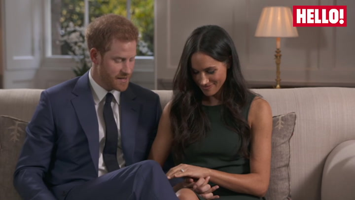 Prince Harry And Meghan talk about The Ring
