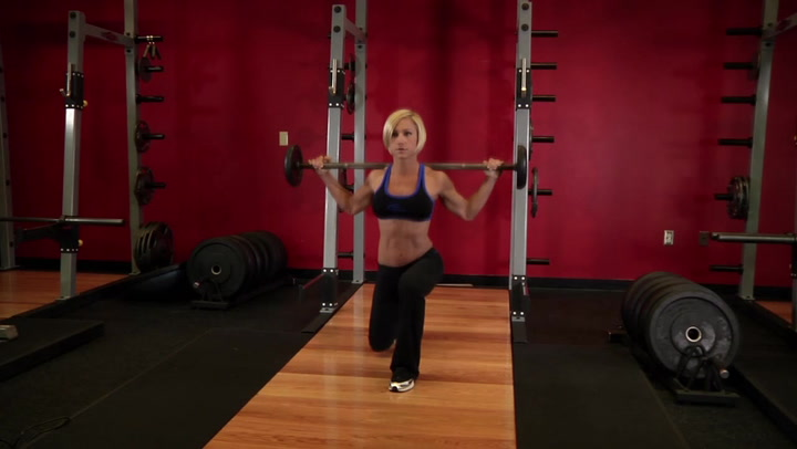 Lunges - Leg Exercise