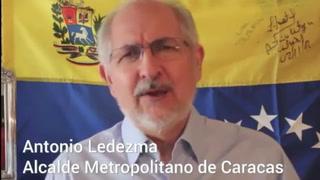 Alcalde de Caracas en Colombia tras violar arresto domiciliario