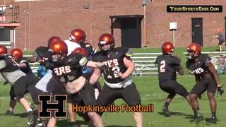 Hopkinsville Football Spring Scrimmage