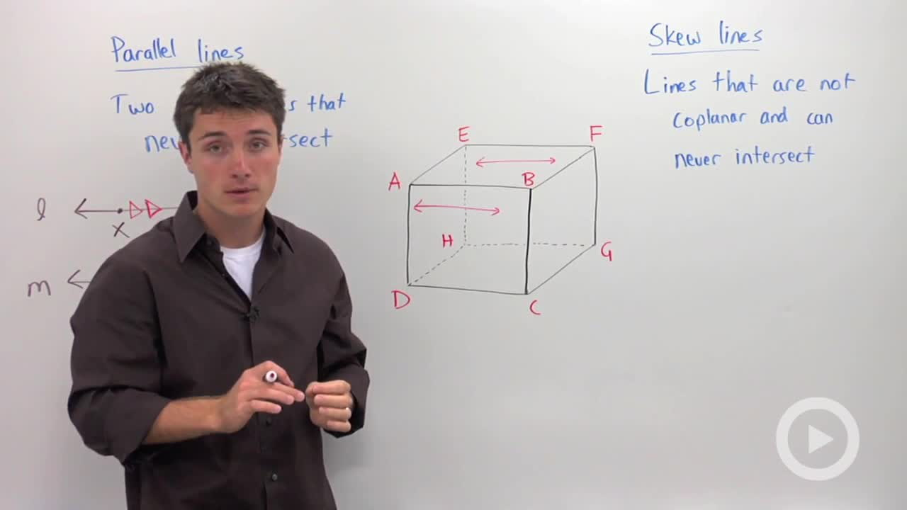 Skew Lines Definition Math Is Fun Parallel Planes and Lines