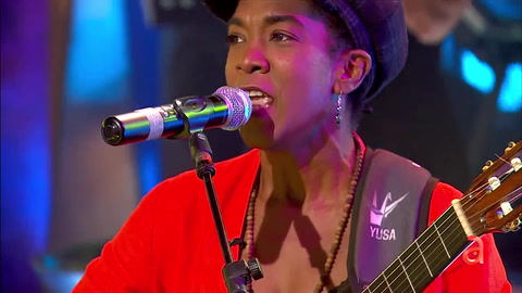 La cantante cubana Yusa en TN3