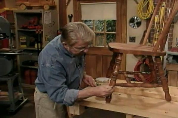 Stain And Topcoat Wood Furniture