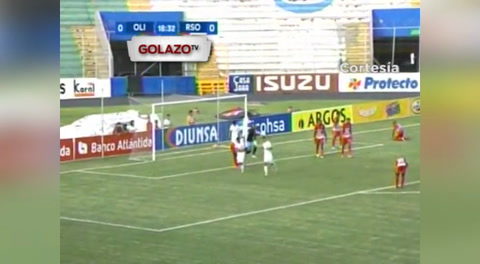 Olimpia 2 - 1 Real Sociedad (Liga Nacional Honduras)