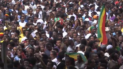 Explosión en mitin en Etiopía provoca más de 80 heridos
