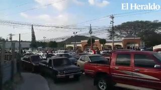 Continúa obstaculizada la salida a la zona sur de Honduras