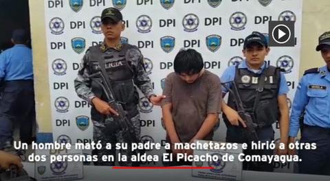 Tras discusión hombre mata a machetazos a su padre en Comayagua