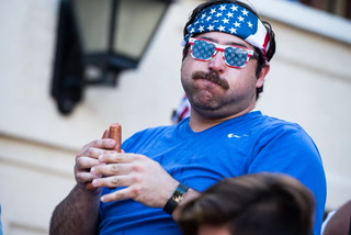 The Perils of a Hot-Dog Eating Contest — in Slow Motion