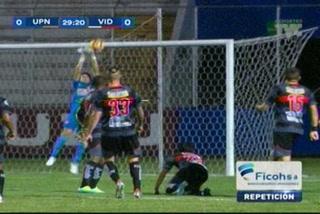 Ricardo Canales se agigante y hace espectacular atajada ante UPN