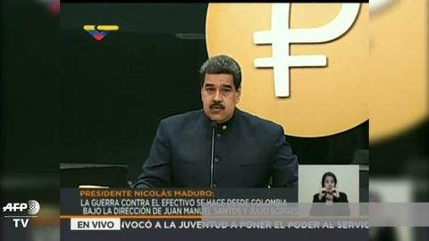 Maduro anuncia nuevo cono monetario ante desbocada inflación