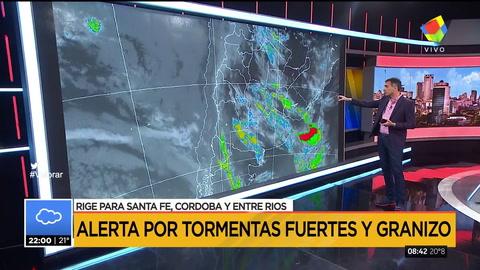 Alerta meteorológica para el Santa Fé