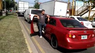 Paralizado el anillo periférico en Tegucigalpa por transportistas