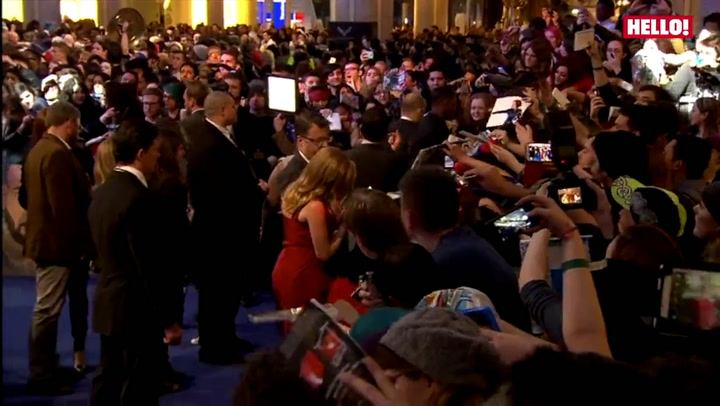 Interviews with Scarlett Johansson, Samuel L Jackson and their Avenging co-stars at the premiere of Captain America: The Winter Soldier