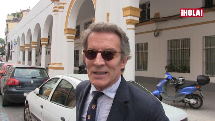 Alfonso Diez visita a sus amigos en Sevilla