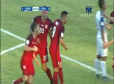 Wood anota el empate para EEUU ante Honduras en SPS