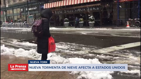 Nueva tormenta de nieve afecta Estados Unidos en plena primavera