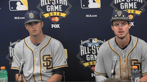 Wil Myers & Drew Pomeranz on All Star Game experience