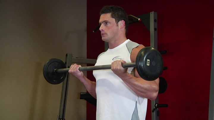 Barbell Curl - Biceps Exercise - Bodybuilding.com