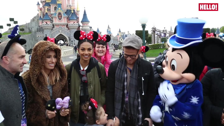 Stacey Solomon at Disney