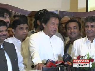 چوہدری نثار کو پارٹی میں شمولیت کی دعوت دیتا ہوں، عمران خان