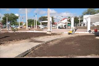 Remodelan plaza Niños Héroes