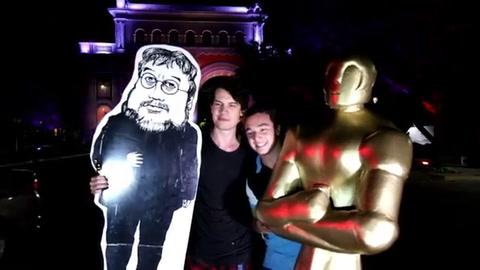 Guadalajara celebra los Óscar para Guillermo del Toro