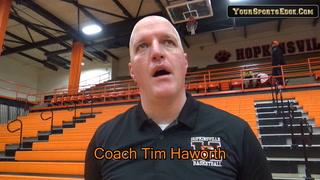 Haworth Likes Effort in Win Against Owensboro