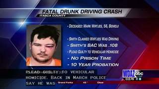 Bemidji man pleads guilty to vehicular homicide