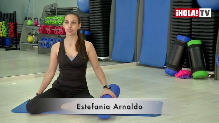 Ejercicios del Método Pilates con Foam Roller (II)
