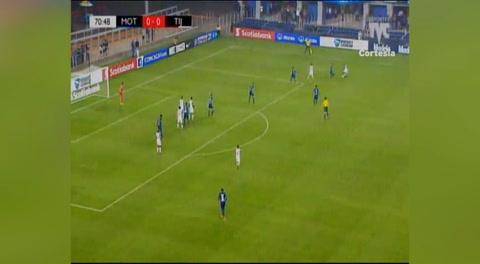 Gol de Xolos al Motagua (Liga Nacional 2018)