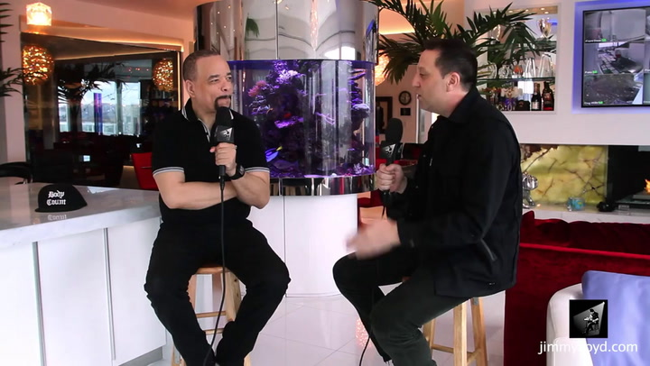 Ice T is interviewed on The Jimmy Lloyd Songwriter Showcase
