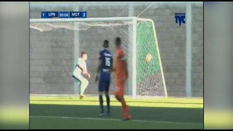 Gol de  Carlos Rochez al Motagua (Liga Nacional 2018)