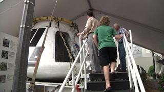Next gen spacecraft lands at Challenger Learning Center