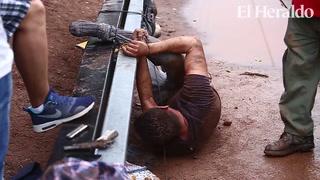 Amarran y linchan a presunto ladrón en Comayagüela