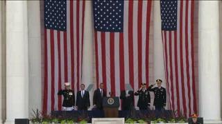 Obama pide recordar a caídos en guerras