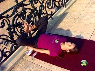 Viparita Karani B, femmes enceintes (10)
