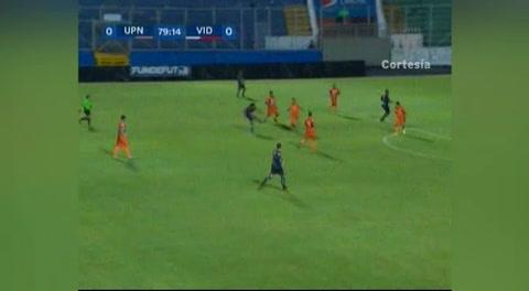 Gol de Víctor Móncada al UPN(Liga Nacional 2017)