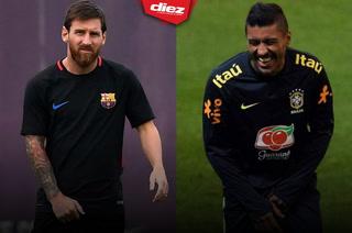 Lionel Messi a Paulinho: ''Te espero en Barcelona''