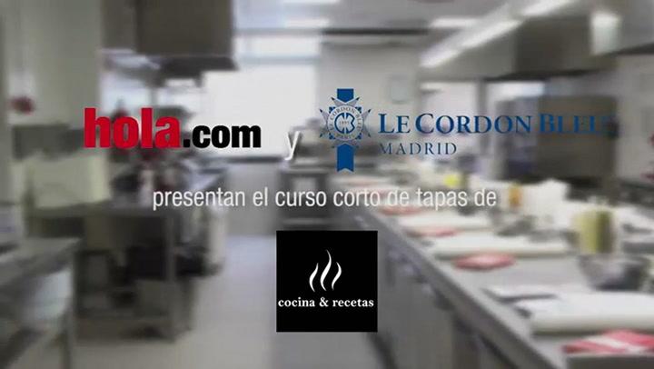 Cocina&recetas entra en las cocinas de Le Cordon Bleu Madrid