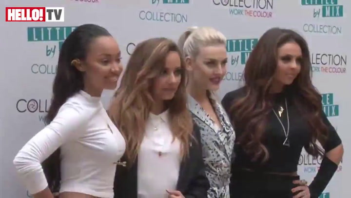 Little Mix launch their new range of make-up